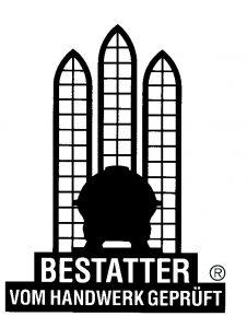 Logo Markenzeichen Bestatter vom Handwerk geprüft